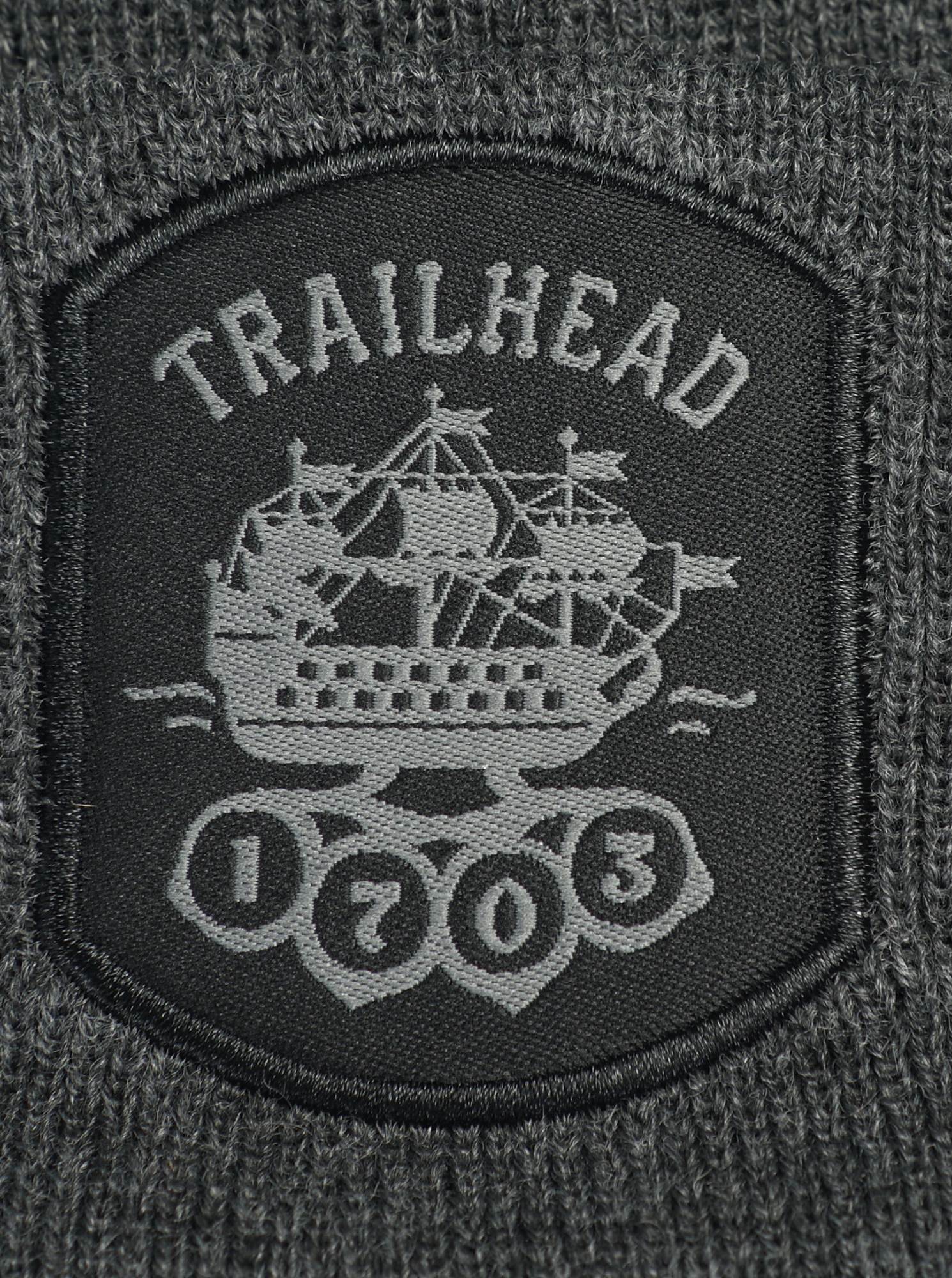 Шапка TRAILHEAD HAT19-PTH-SHIP18-DGR, HAT19-PTH-SHIP18_DKGR, фото 2