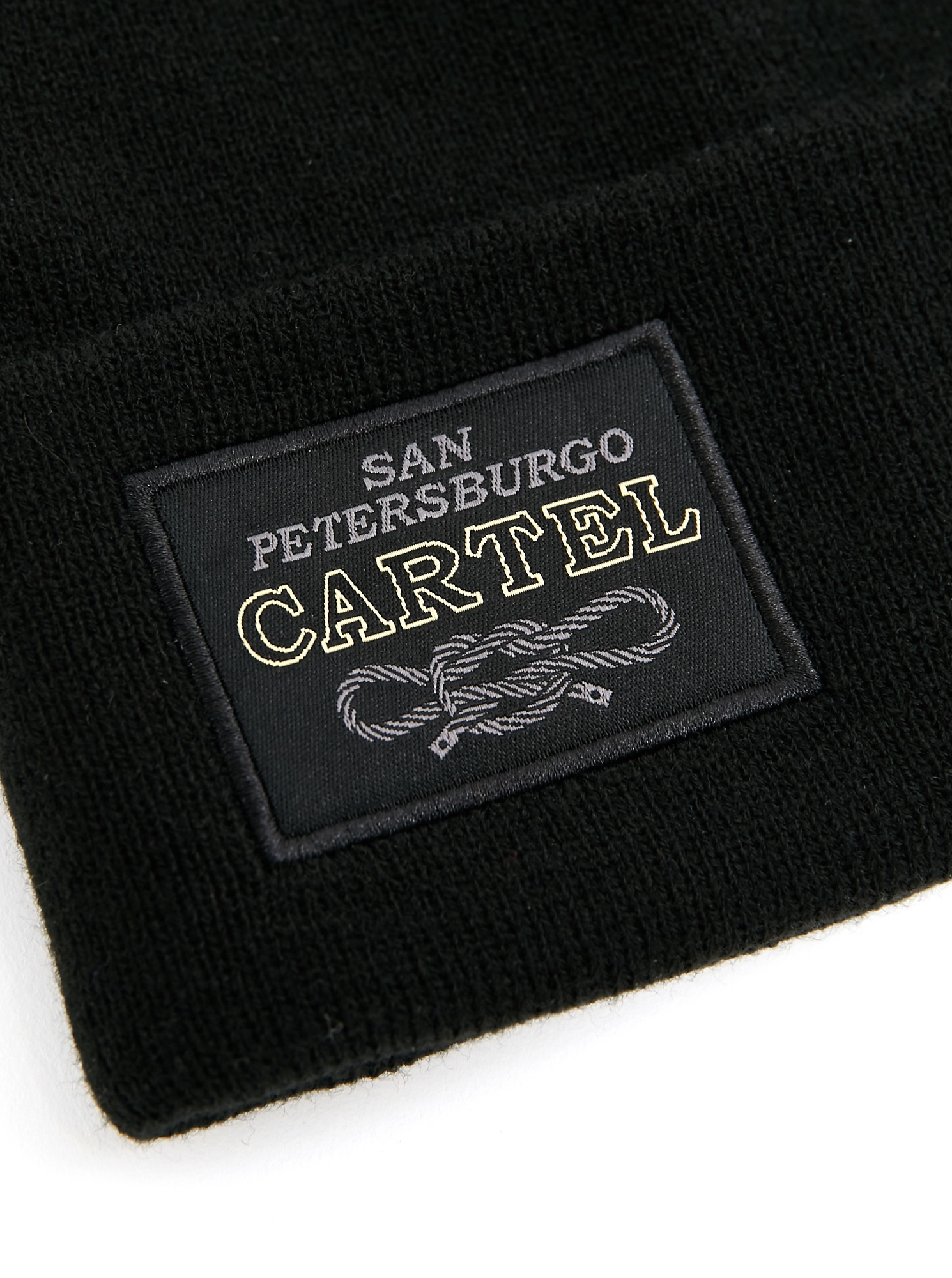 Шапка Trailhead HAT20-15-PTH-Cartel_BK Черная, HAT20-15-PTH-Cartel_BK, фото 2