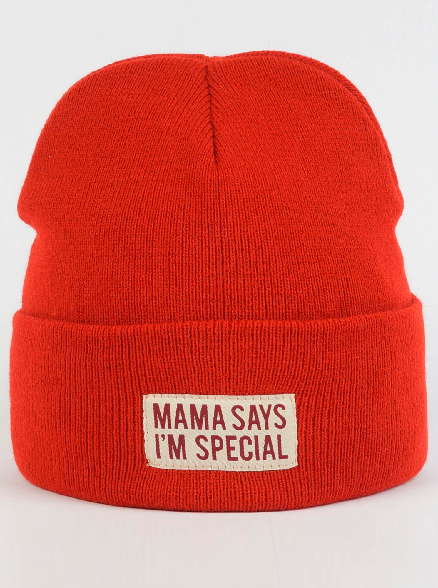 Шапка Trailhead Mama Says Im Special Красная, HAT18-LBL-SPECIAL_RD