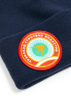 Шапка Trailhead HAT20-07-PTH-Zvezd_NV Синяя, HAT20-07-PTH-Zvezd_NV, фото 2