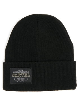 Шапка Trailhead HAT20-15-PTH-Cartel_BK Черная, HAT20-15-PTH-Cartel_BK