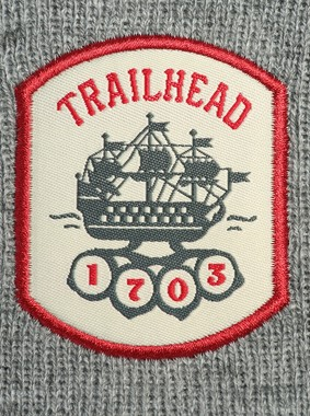 Шапка TRAILHEAD HAT19-PTH-SHIP18-MGR, HAT19-PTH-SHIP18, фото 2