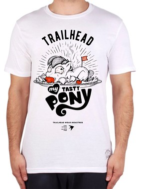 ФУТБОЛКА TRAILHEAD MY TASTY PONI БЕЛАЯ, MTS-PONI