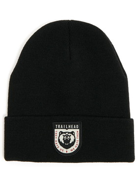 Шапка Trailhead HAT20-04-PTH-Bear_BK Черная, HAT20-04-PTH-Bear_BK