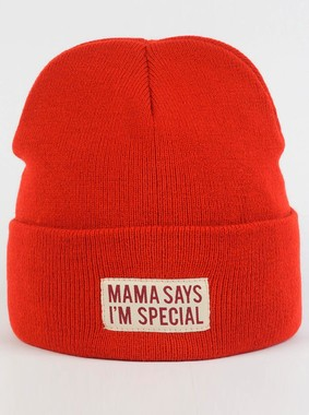 Шапка Trailhead Mama Says Im Special Красная, HAT18-LBL-SPECIAL