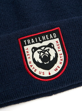 Шапка Trailhead HAT20-04-PTH-Bear_NV Синяя, HAT20-04-PTH-Bear_NV, фото 2