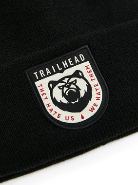 Шапка Trailhead HAT20-04-PTH-Bear_BK Черная, HAT20-04-PTH-Bear_BK, фото 2